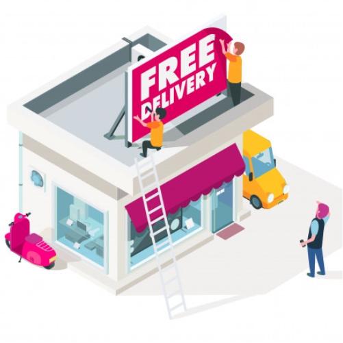 Shop-Branding