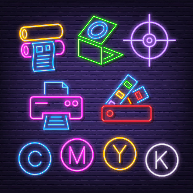 printing neon